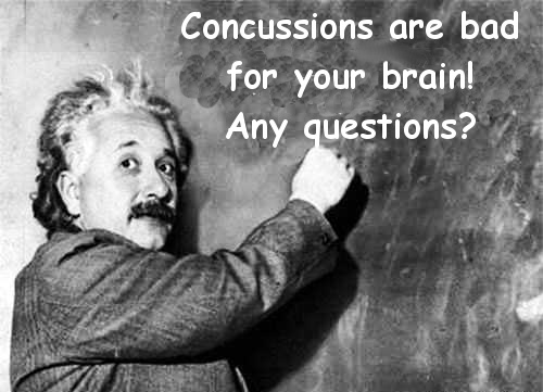 einstein concussion