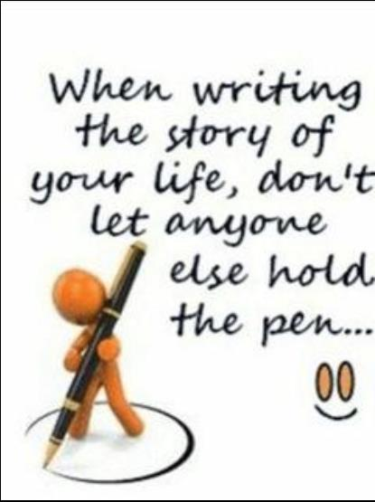 hold the pen