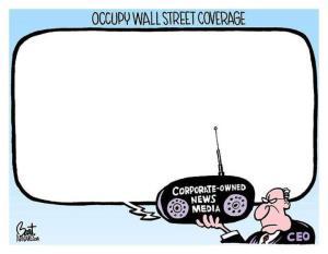 Occupy media coverage