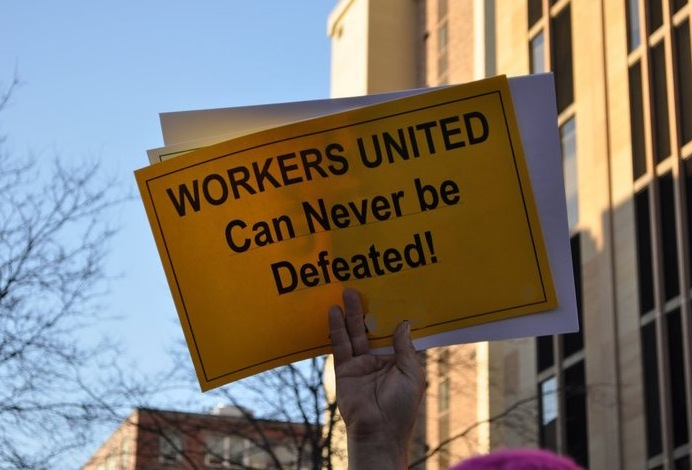workers united can never be defeated