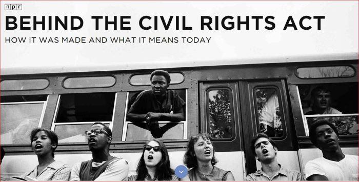 CIVIL RIGHTS ACT USA