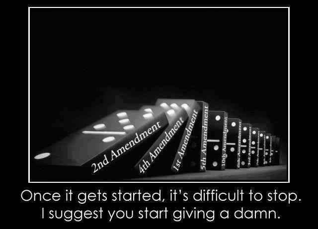 dominoes and constitution