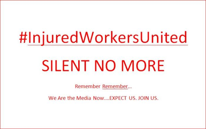 InjuredWorkersUnited SILENT NO MORE