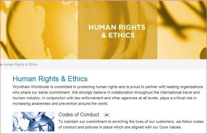 Wyndham Human Rights and Ethics