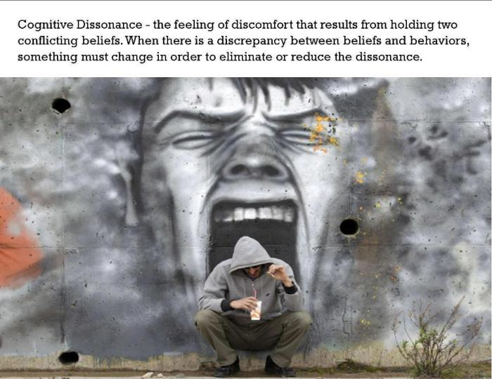 ele cognitive dissonance