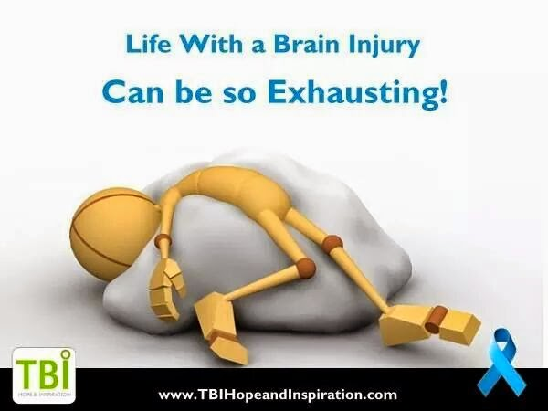 Life with TBI is so