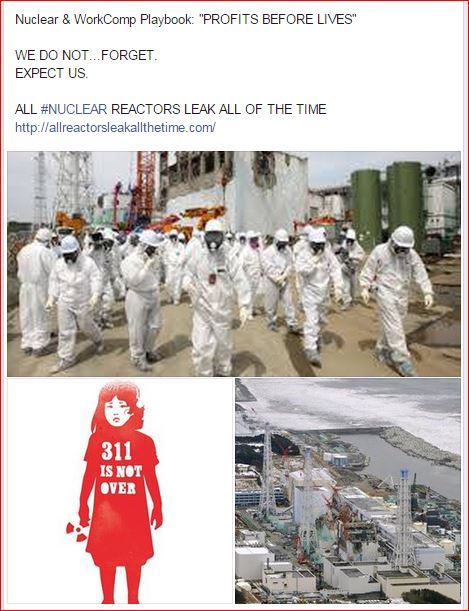 311  WorkComp Nuclear PROFITS BEFORE LIVES