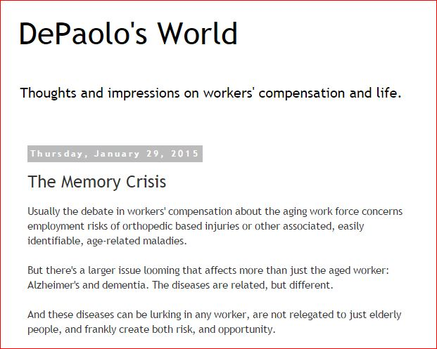 David DePaolo  The Memory Crisis  REMEMBER REMEMBER