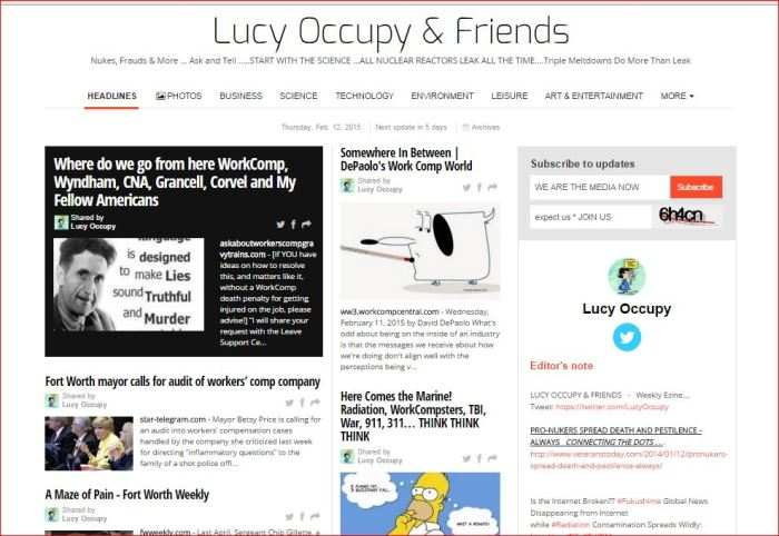 lucy occupy and friends  2 12 2015