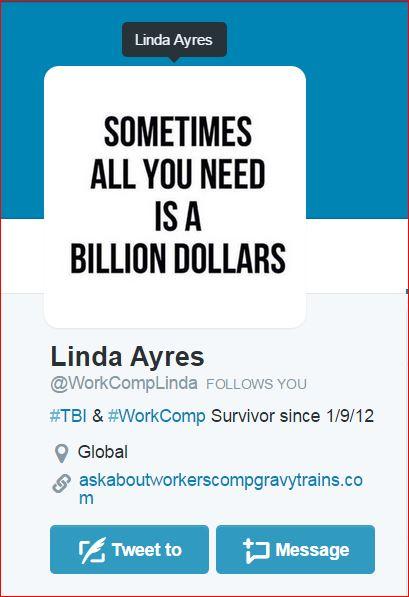 WorkCompLinda  Twitter