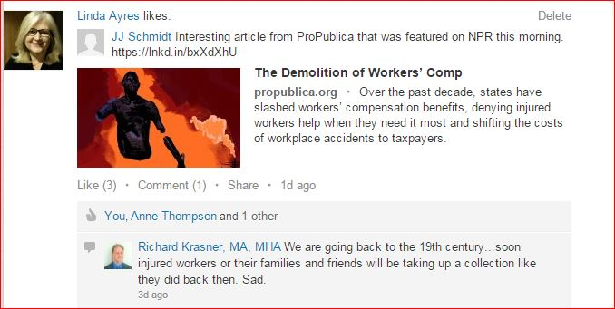Demolition of WorkComp  March 2015