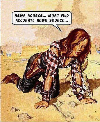 must find accurate news source  media
