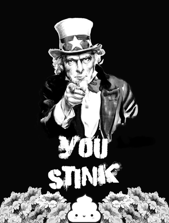 you_stink_by_IronGarlic