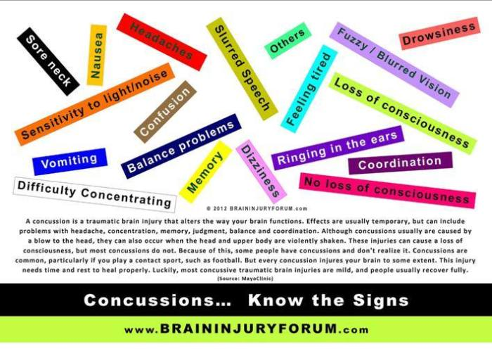 brain concussion tbi