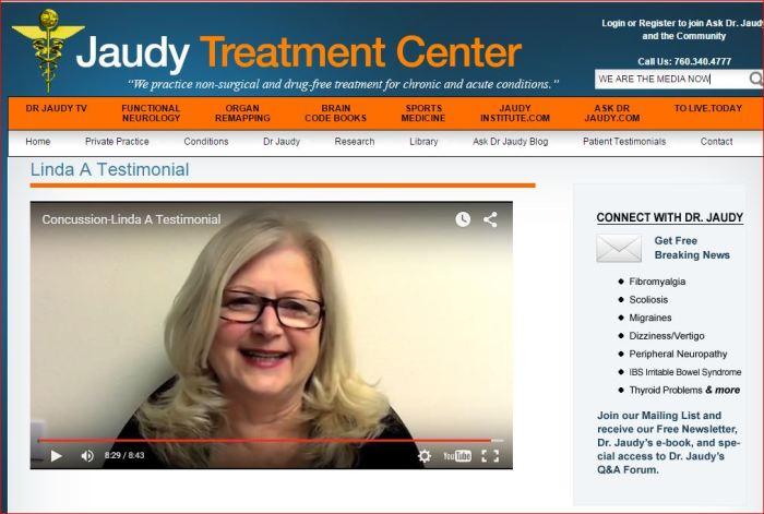 Dr Jaudy Testimonial