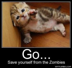 Go save yourself from the zombies