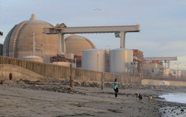 San Onofre and stupid woman