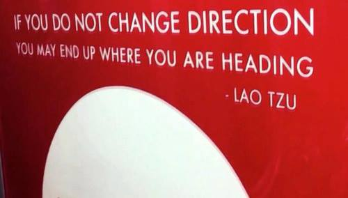 change direction lao tzu