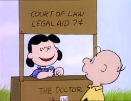 LUCY LEGAL AID THE DOCTOR IS IN