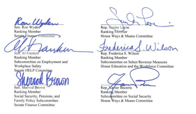 Congressional letter signers 10 2015 2